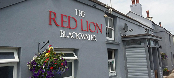 The Red Lion Pub And Restaurant In Blackwater